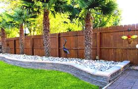 garden brick wall design ideas awesome backyard fence ideas building stylish pine wood unpolished