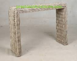 Rattan Console Table Wicker Console Table Palquest