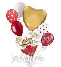 heart balloon bouquet gold damask happy valentines day balloon bouquet damasks