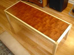 Laminate Table Top How To Finish Without Streaks The Wood Whisperer