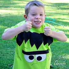 Boys Frankenstein Halloween Costume Frankenstein Shirt Halloween Kids Adults