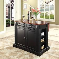 kitchen island with drop leaf breakfast bar crosley drop leaf breakfast bar top kitchen island hayneedle