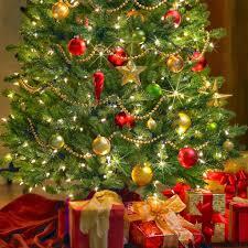 green christmas tree decorations uk personalised x mas tree