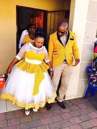 Ratu Sotho Traditional Wedding Invitation Sotho Wedding