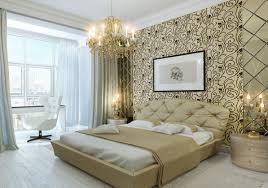 bedroom lavish bedroom accent wall idea with wallpaper decor