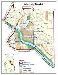 Minneapolis Neighborhood Map Iso Maps