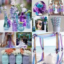 turquoise wedding lavender and turquoise wedding combo