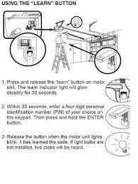 door release button for desk how to program craftsman garage door opener remote i81 for your how