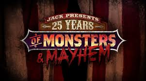 halloween horror nights maze jack presents 25 years of monsters and mayhem halloween horror