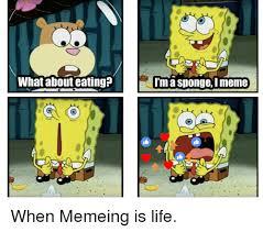 I Meme - a sponge washing dishes sponge meme on me me