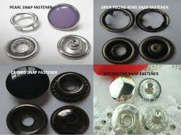 Decorative Snaps Assqc On Snap Fasteners And Buttons