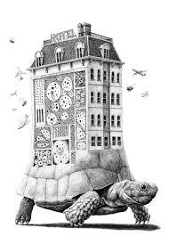 hã ngelen wohnzimmer surreal drawings by redmer hoekstra