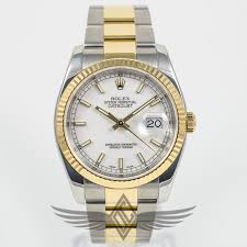 rolex steel oyster bracelet images Rolex datejust 36mm stainless steel yellow gold oyster bracelet jpg