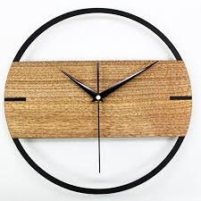 halibayshop creative home fashion simple wood wall clock home creative home fashion simple wood wall clock home decor watch 12