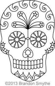 sugar skull brandon smythe digitized quilting designs