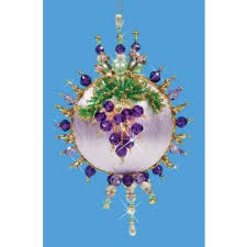 maxim wine country collector ornament beaded kits