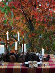 Pine Cone Wedding Table Decorations Autumn Wedding Table Decorations Vecoma At The Yellow River Fall