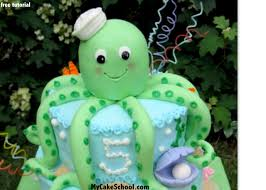 how to make an octopus cake tutorial by my cake my cake
