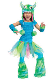 Baby Monster Halloween Costumes by Toddler Blue Beastie Costume Halloween Costumes