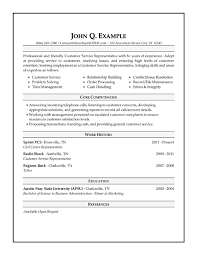resume examples example formats of format for summary statement
