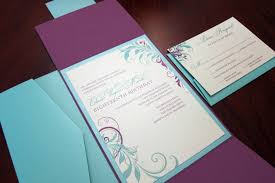 Civil Wedding Invitation Card Wedding Invitation Blue And Purple Yaseen For