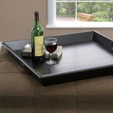Tray Ottoman Coffee Table Serving Trays For Ottomans Tray Large Ottoman Decorative