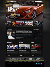car tuning repair joomla template theme gridgum