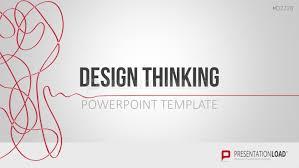 design logo ppt design thinking powerpoint template