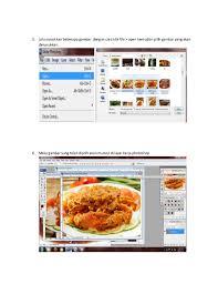 cara membuat brosur makanan langkah membuat brosur by nilam sari
