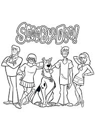 30 scooby doo images scooby doo coloring