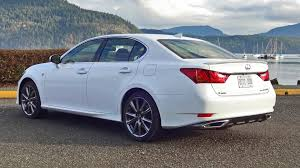 lexus gs 350 vs q70 2015 lexus gs 350 awd f sport test drive review