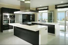 kitchen designs with black cabinets black and white kitchen decorating ideas outofhome