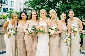 gold bridesmaid dresses to shop now