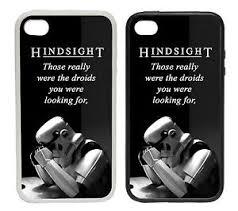 Star Wars Stormtrooper Meme - hindsight stormtrooper rubber plastic phone cover case star
