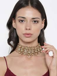 woman with necklace images Necklace buy necklaces for men women online in india myntra jpg