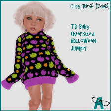 second life marketplace a td oversized jumper halloween