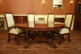 mahogany dining room table and chairs zenboa