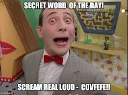 Word Meme Generator - peewee herman secret word of the day meme generator imgflip