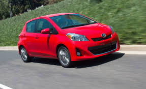 2012 toyota yaris hatchback automatic test u2013 review u2013 car and driver