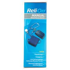 relion manual blood pressure monitor walmart com