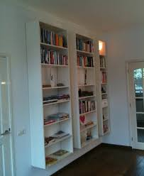 ikea am駭agement cuisine float ikea bookcases for maximum shelf space with zero footprint