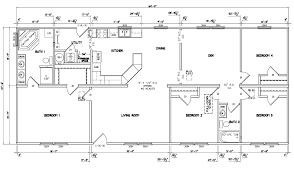 4 bedroom ranch house plans ahscgs com