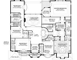 Blueprints For 4 Bedroom Homes by 7 Bedroom House Plans Home Planning Ideas 2017