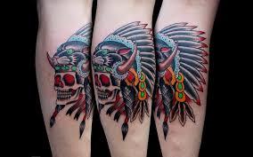 chambers panther indian headdress tattoo design jpg 5401481 top