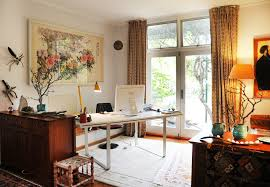 Therapist Office Decorating Ideas Home Office For Two People Small Space Solution Double Desks