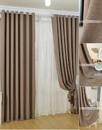 Affordable Curtains And Drapes And Discount Curtains Drapes In Dark Coffee Color