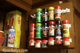 Spice Rack Organizer Wfmw The Best Way To Organize Spices Ever Rose Bakes