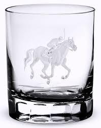 barware sets at the track engraved crystal barware sets equine luxuries