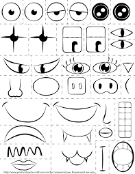 printable preschool cutting activities make a face printable google search vbs 2014 pinterest face