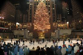 tree in new york lights decoration nyc